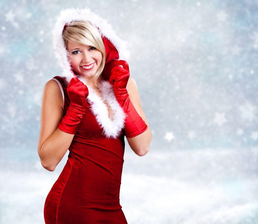 Новогоднее платье для девушки