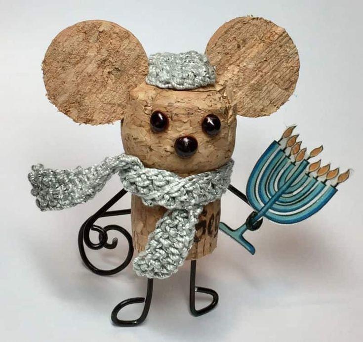 Поделка мышь на Новый год, своими руками