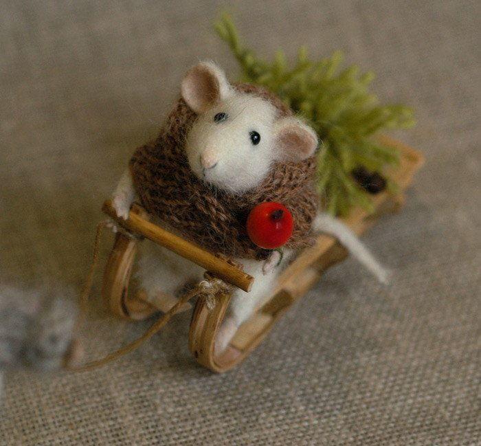 Мыши, крысы на Новый год, своими руками