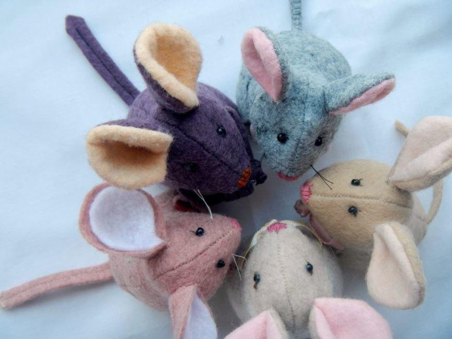 Мышки на Новый год своими руками