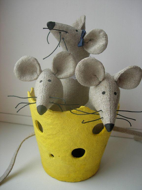 Поделки на Новый год 2020 мыши