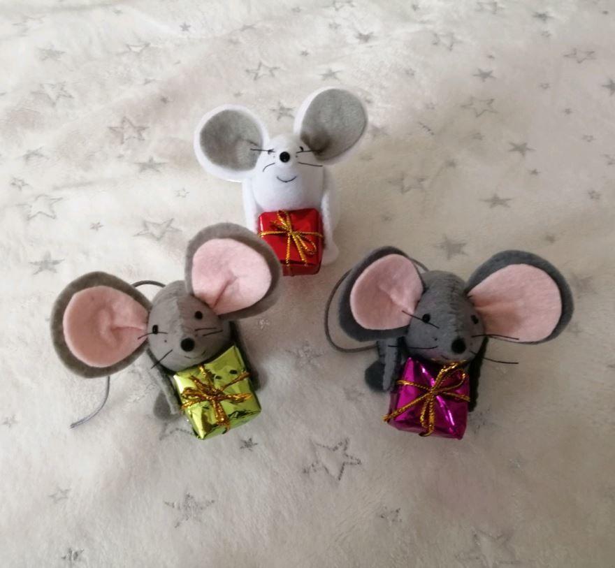 Идеи поделок своими руками - красивые мышки