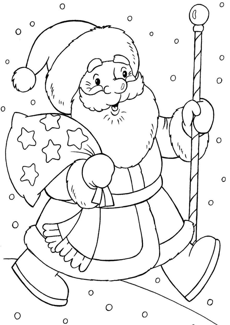 Легкие, красивые рисунки на Новый год для срисовки