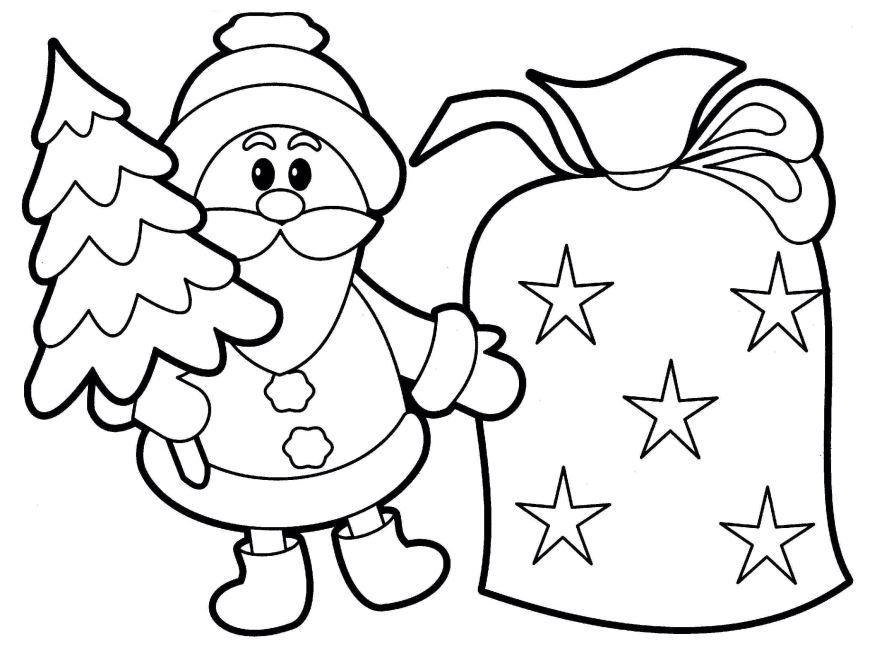 Рисунок на тему Новый год, для школы