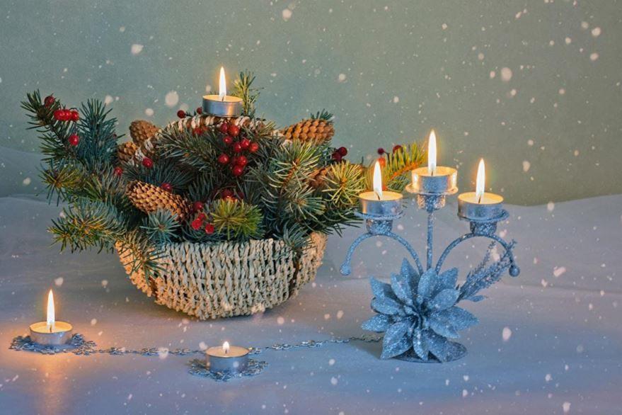 Красивая открытка Католическое Рождество