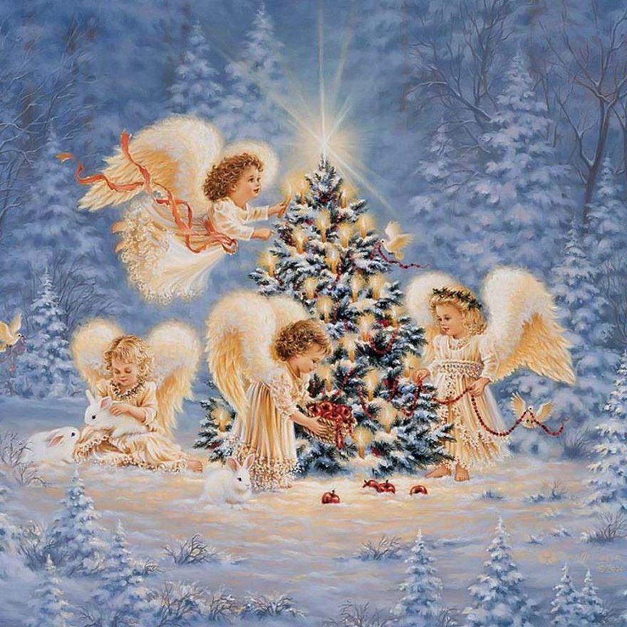 Поздравление с Католическим Рождеством, открытка