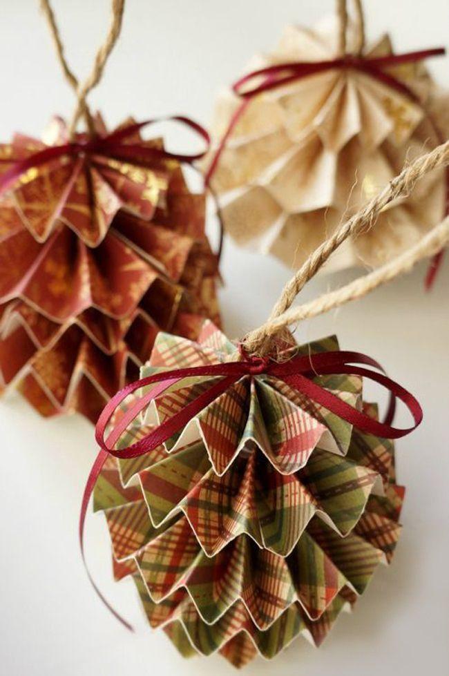 Новогодние украшения, для елки своими руками