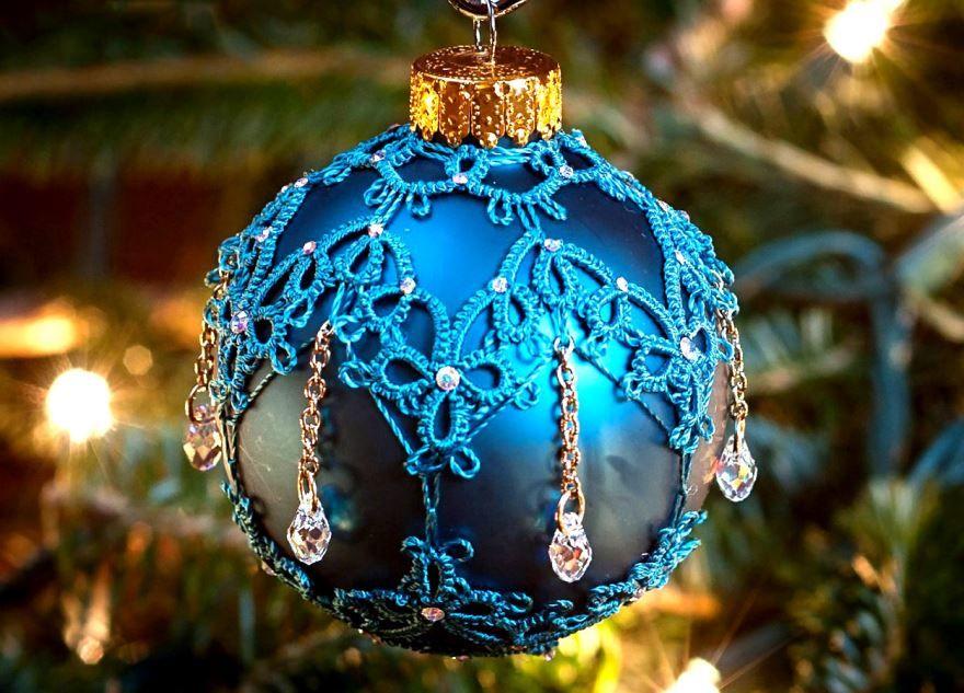 Новогодние украшения для елки, своими руками