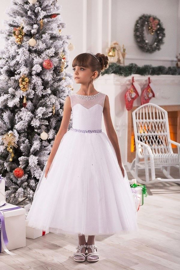 Платье для девочки на Новый год 2021