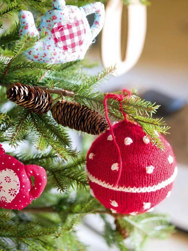 Игрушки на Новый год, на елку, своими руками