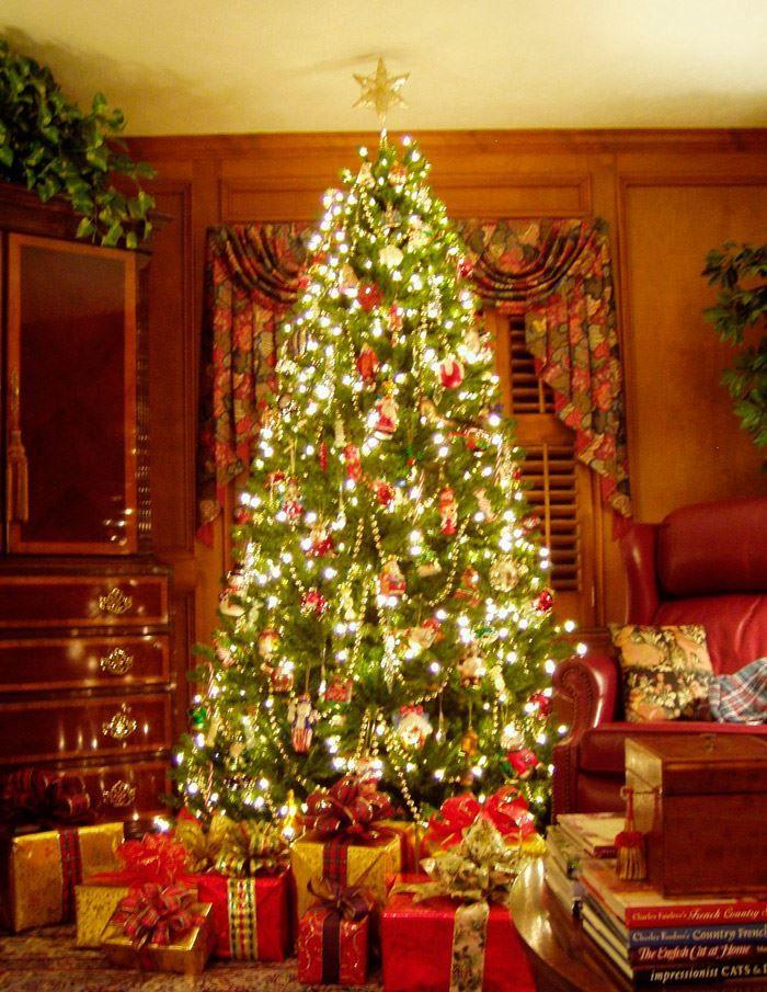 Новый год, новогодняя елка дома