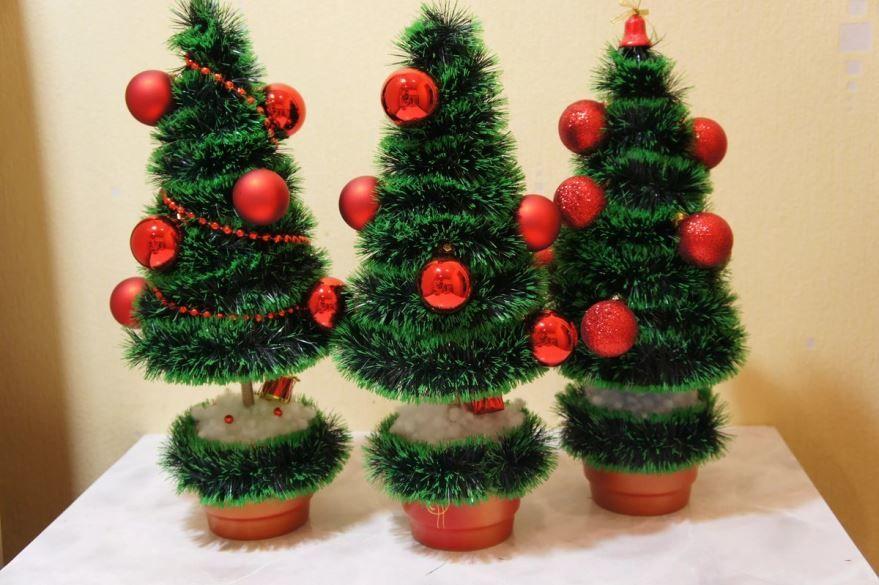 Поделки на Новый год - елка своими руками