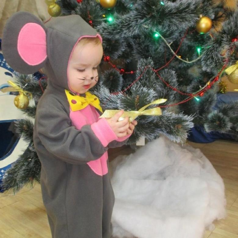 Костю мышки на Новый год