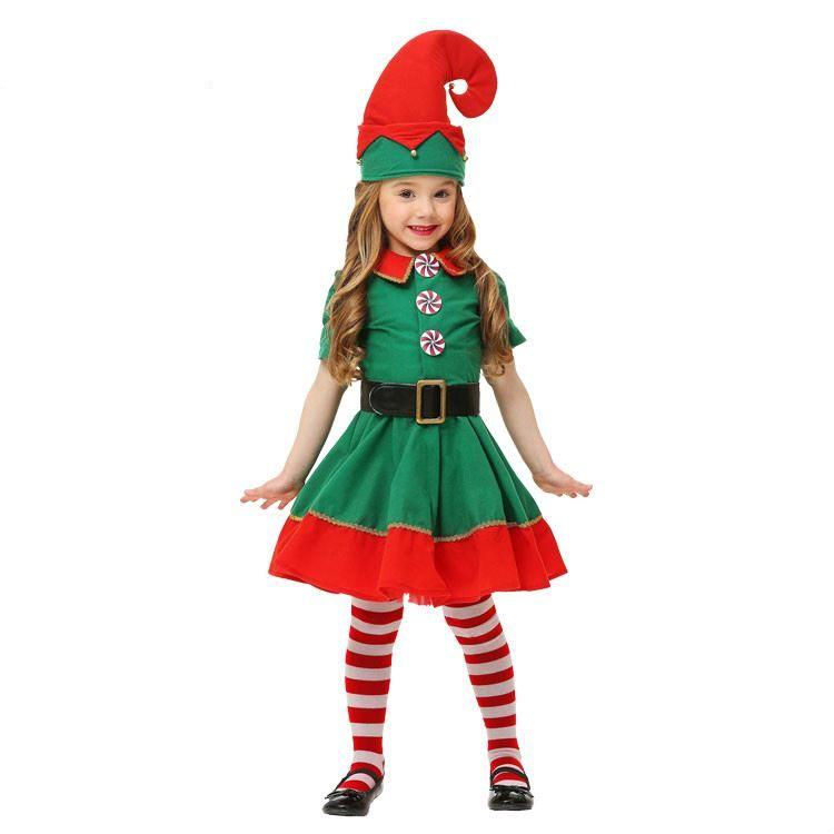 Красивый костюм на Новый год для девочки