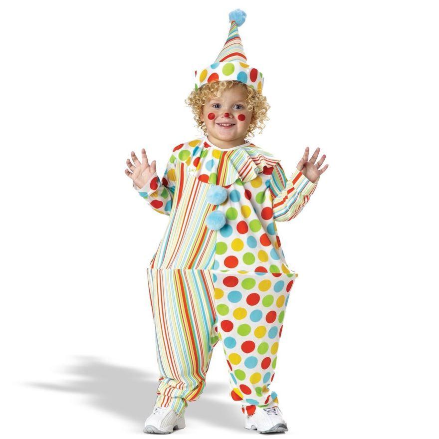 Костюм клоуна для мальчика на Новый год
