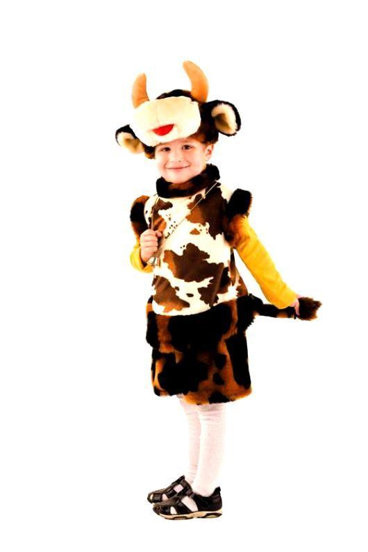 Костюм быка на Новый год для мальчика