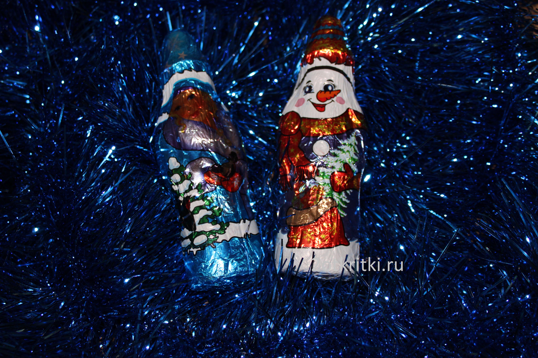 Новогодние игрушки сладости для детей