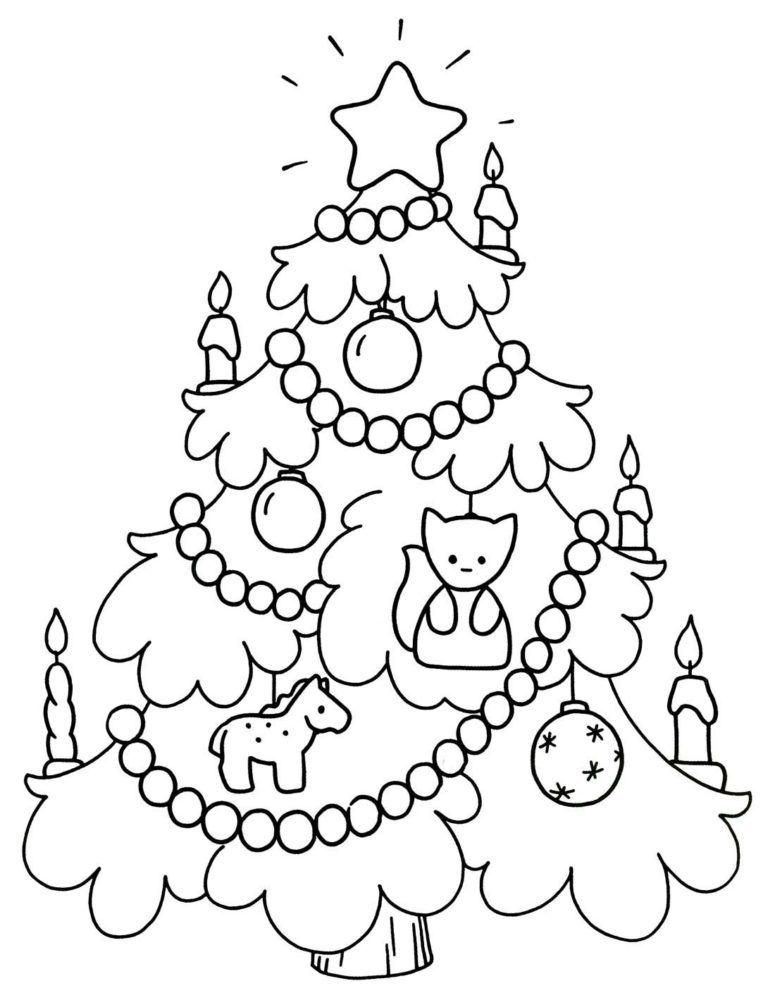 Раскраска Новый год, для детей разного возраста