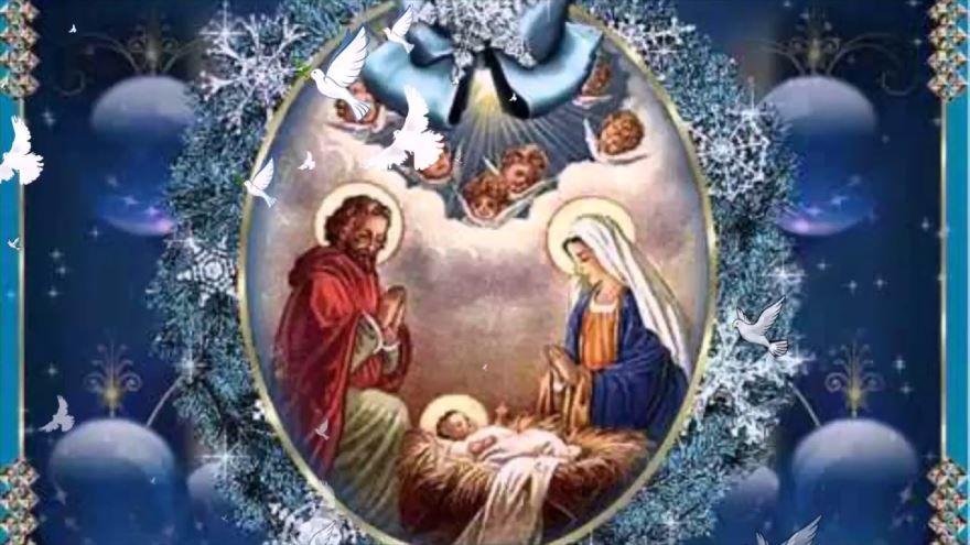 С Рождеством Христовым, красивая открытка
