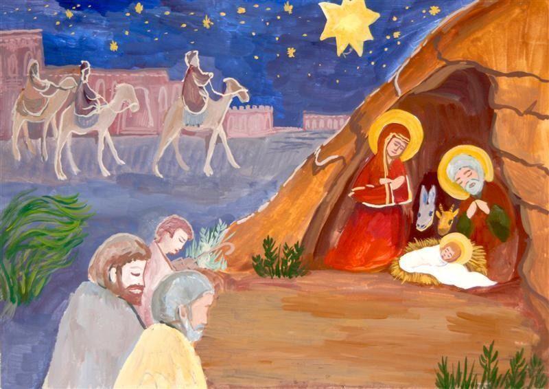 Рисунки на Рождество
