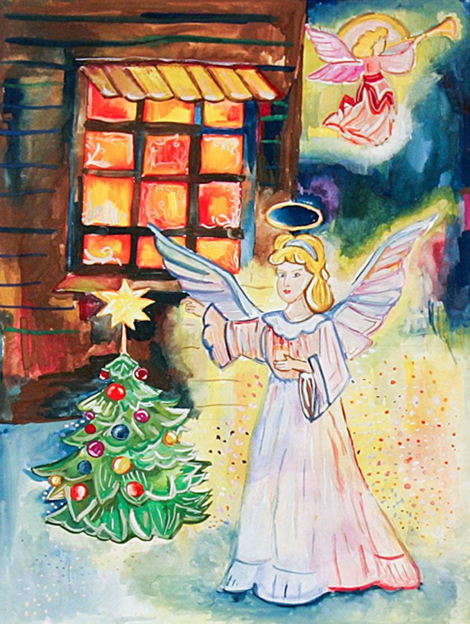Рисунок перед Рождеством