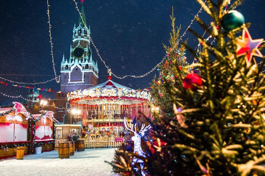 Новый год и Рождество в России