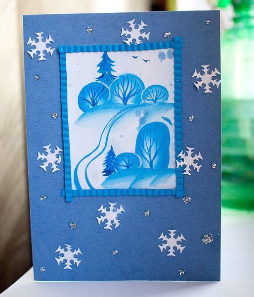 Открытки к Рождеству своими руками для детей