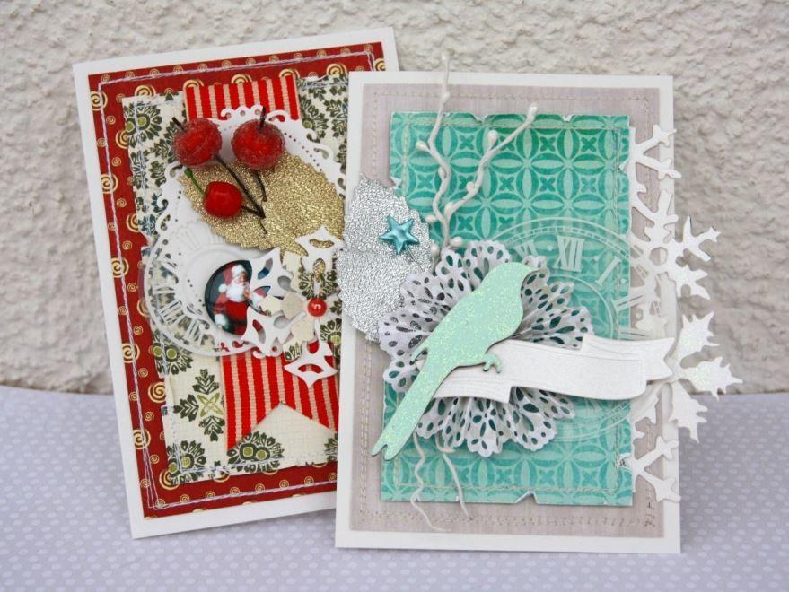 Красивые открытки на Рождество для детей, своими руками