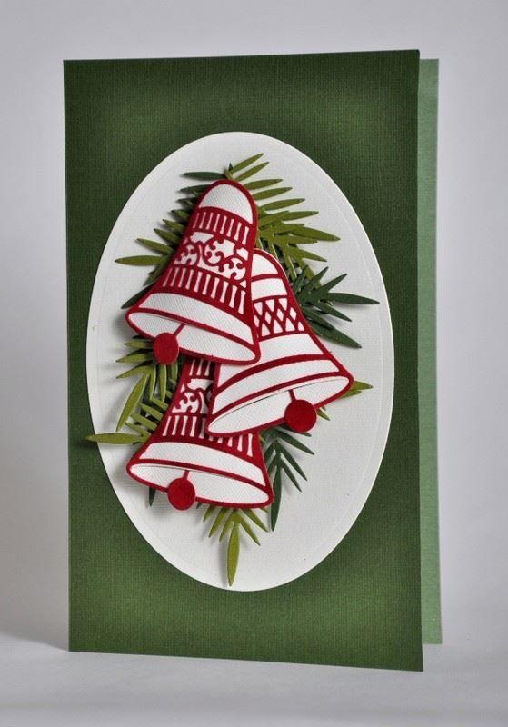 Открытка с Рождеством, своими руками