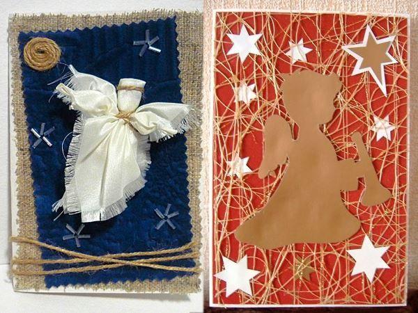 Открытки на Рождество своими руками, из бумаги