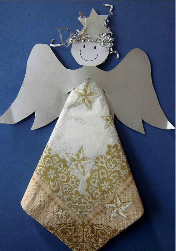 Поделка на Рождество в детский сад