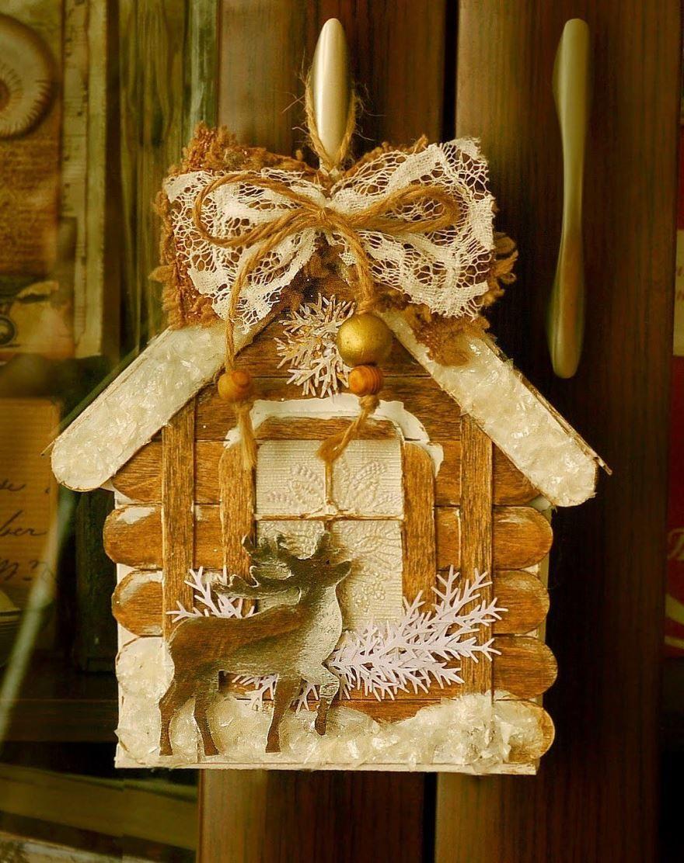 Красивая, детская поделка на Рождество Христово, своими руками