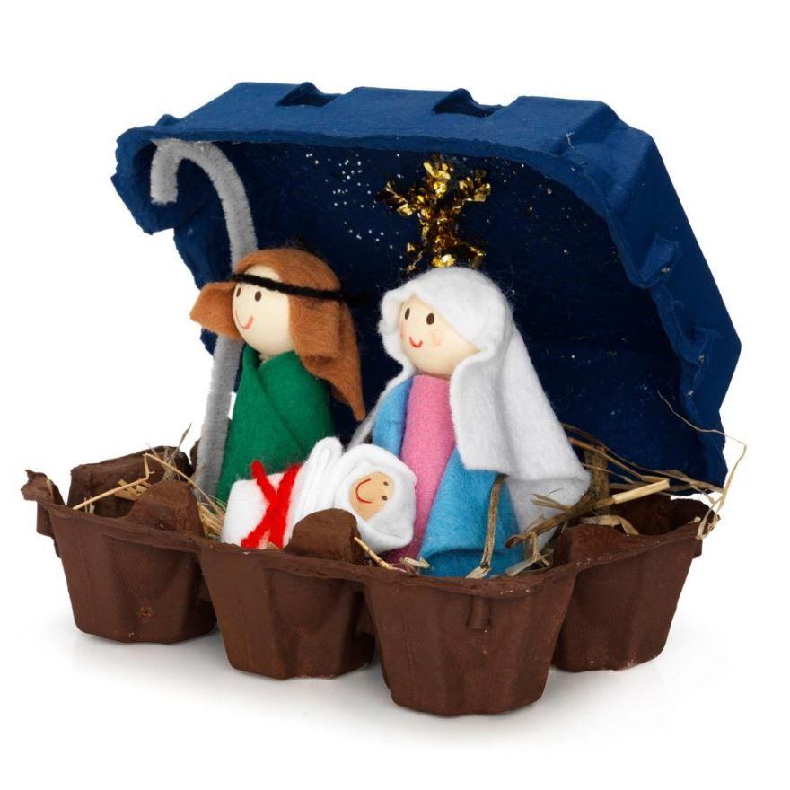 Поделка на Рождество в школу