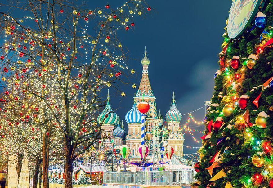 Красивое фото Рождества Христова