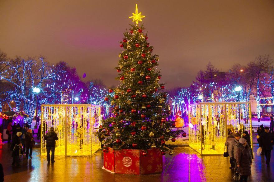 Фото ночи Рождества