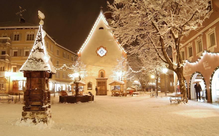 Красивые фото Рождества, улицы