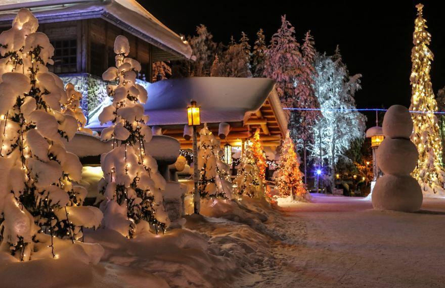 Красивое фото ночь Рождества