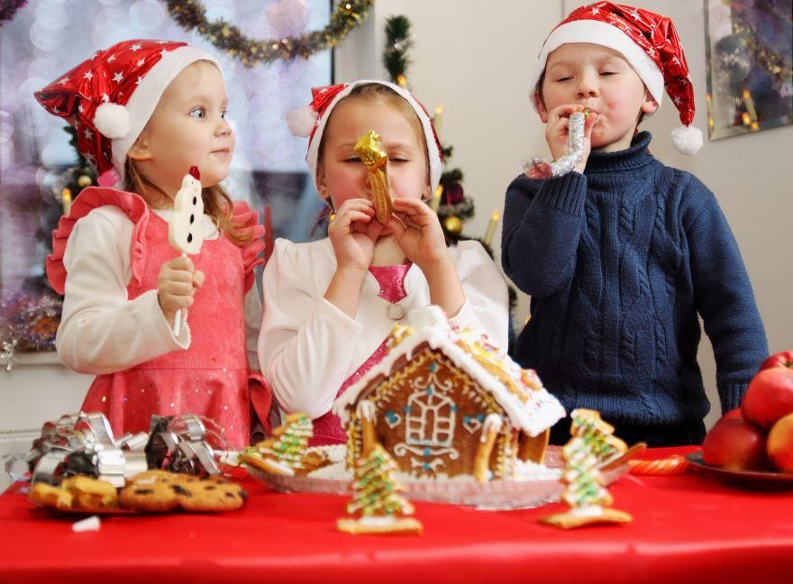 Детское Рождество, праздник для детей