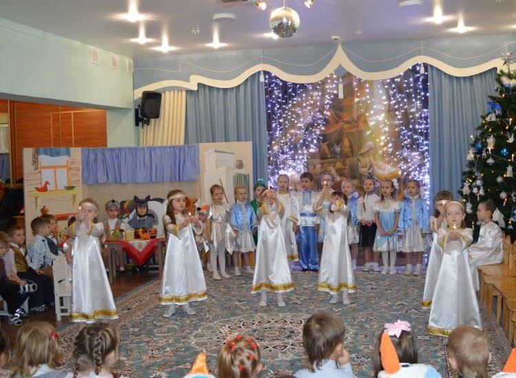 Детское Рождество в детском саду