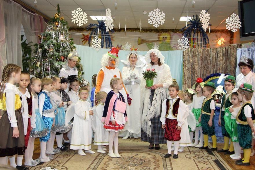 Детское Рождество в детском саду, фото
