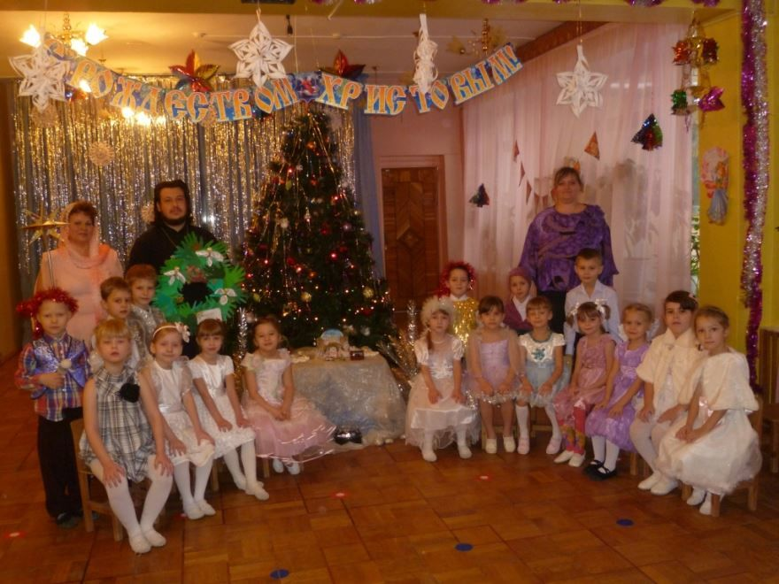 Праздник Рождества в детском саду, фото