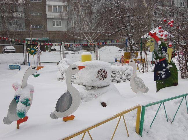 Украшение детского сада к Новому году