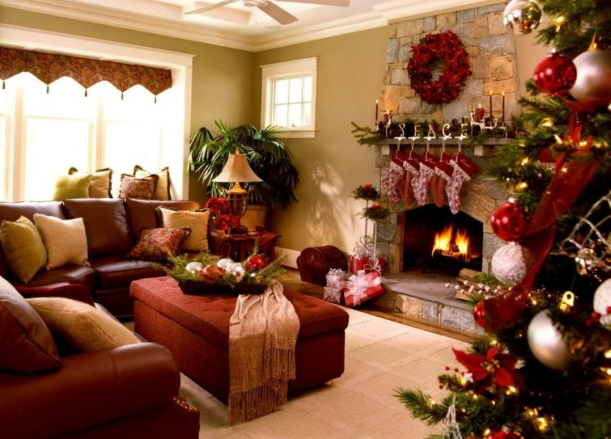 Новый год украшения для дома, своими руками
