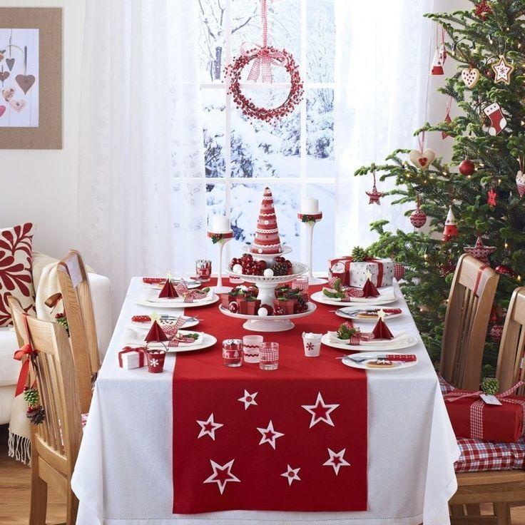 Украшение дома и стола на Новый год