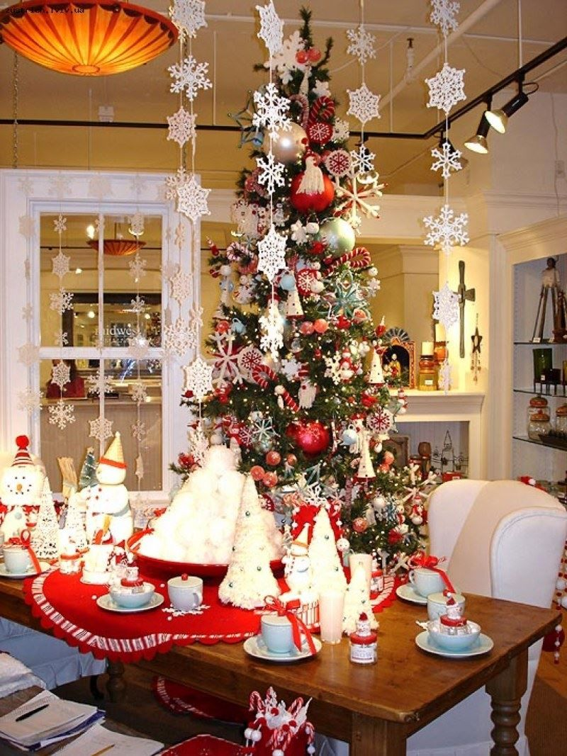 Новый год украшение дома своими руками, фото