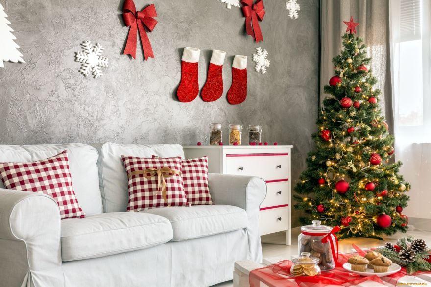Украшение классной комнаты к Новому году