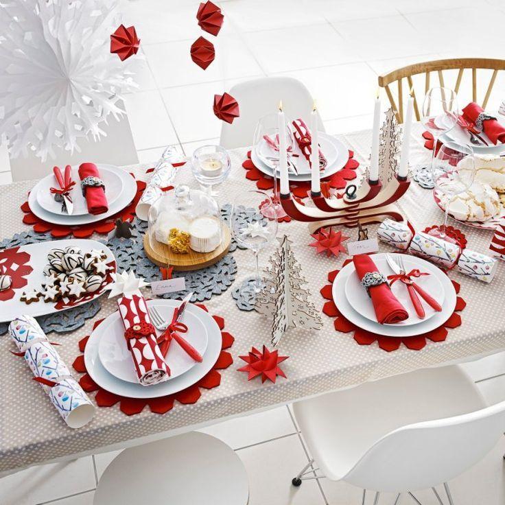 Идеи украшения стола на Новый год