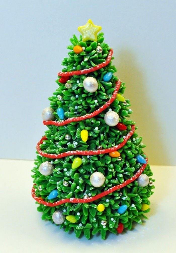 Новогодняя елка, поделка в школу