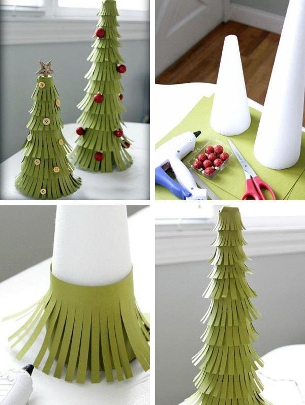 Как сделать елку в домашних условиях?