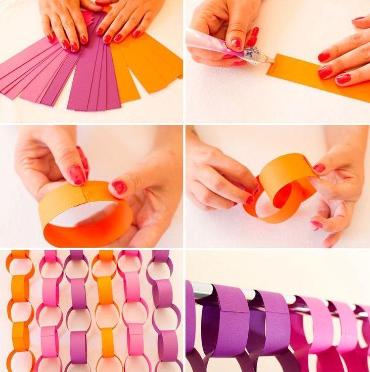 Как сделать гирлянду, своими руками